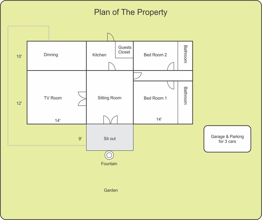 Konkan Dream Home Plan Of The Property